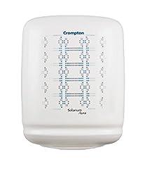 Crompton Solarium Aura ASWH1310 10-Litre 2000-Watt Storage Water Heater (White)
