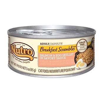 Nutro Breakfast Scrambles Cat Food Salmon & Egg Skillet
