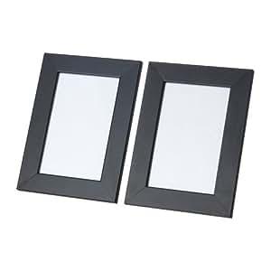 IKEA Nyttja schwarz 10x15cm 2er-Set