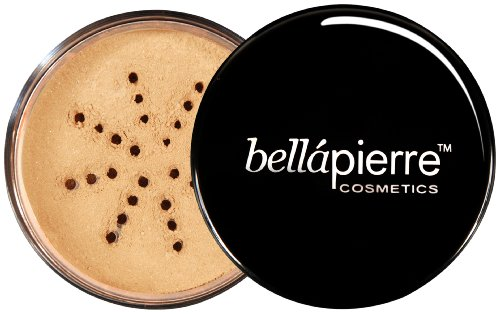 Bella Pierre Mineral Foundation, Cinnamon, 0.3-Ounce