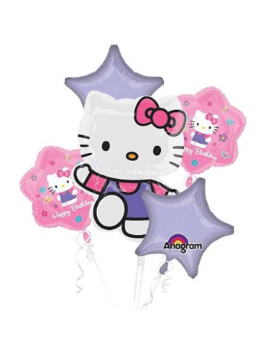Anagram Hello Kitty Birthday Balloon Bouquet