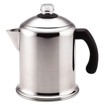 New - FW Yosemite 8 Cup Percolator by Farberware Cookware