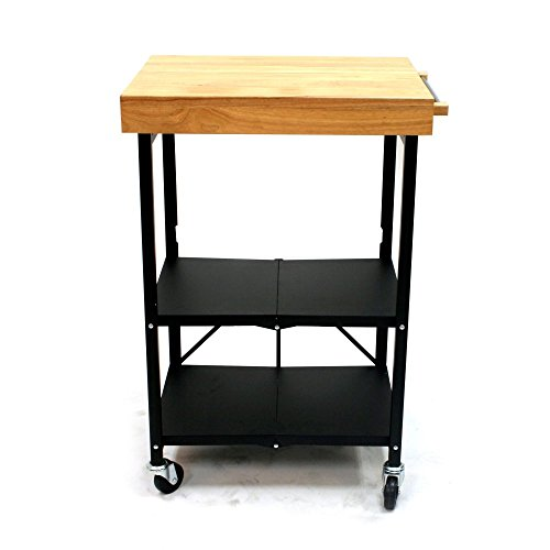 Origami RBT-03 Kitchen Cart (Butcher Block Bar compare prices)
