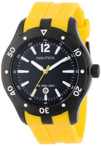 Nautica Mixte N15626G NST 401 Atlantis Date Classique Analogique Avec Enamel Couronne Montre