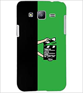 PrintDhaba Film D-5482 Back Case Cover for SAMSUNG GALAXY J2 (Multi-Coloured)