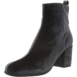 Kennel und Schmenger Schuhmanufaktur Damen Kiko Kurzschaft Stiefel, Grau (Grey 347), 37.5 EU