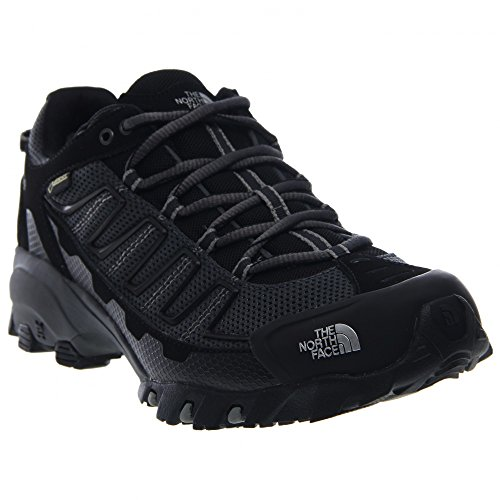 Men's The North Face Ultra 109 GTX Trail Running Shoe TNF Black/Dark Shadow Grey Size 11 M US