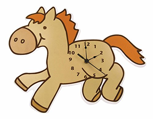 Trend Lab Wall Clock, Cowboy Baby Pony - 1