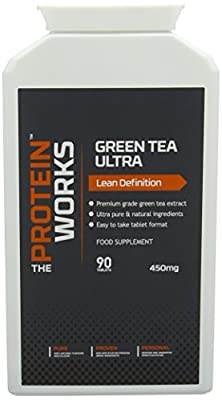 The Protein Works, Green Tea Ultra, High Grade Green Tea Extract Tablets - 90 Tablets by The Protein Works