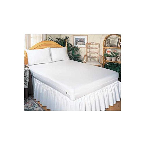 Mattress Protector-Contour- Queen- 60 X80 X9 - World Wide Shipping front-1034165