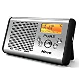 Pure Move, Portable Rechargeable Palm-sized DAB/FM Radio (discontinued by manufacturer)by Pure