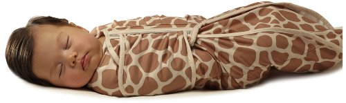 Fisher-Price Swaddlecinch Blanket With Beanie, Giraffe front-634432
