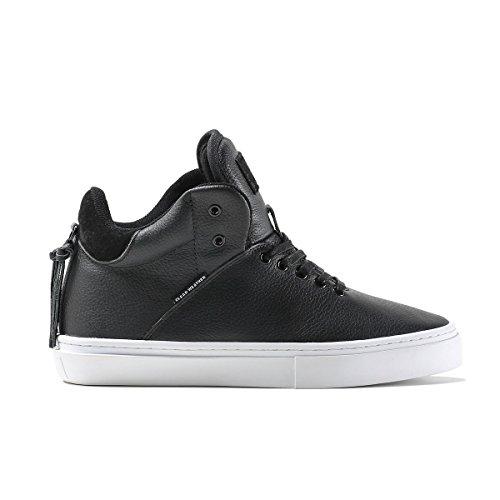 Clear Weather One-Ten Black Nubuck HighTop Leather Sneaker Size 13 US Men, 14.5 US Women