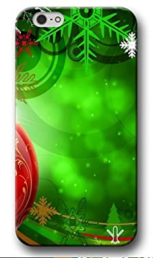 buy Green Snowflakes Printed Iphone 6S Plus Case, Christmas Series Iphone 6 Plus Cover