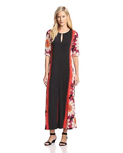 Melissa Masse Women's Keyhole Maxi Dress