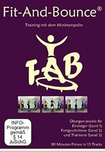 Fitnesstraining auf dem Minitrampolin