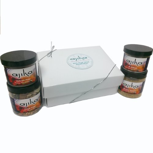 Ajika Rice Spices Holiday Gift Box, 16-Ounce