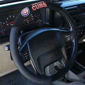 Chicago Cubs Steering Wheel Cover - One Size at Amazon.com
