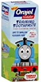 Orajel Toddler Training Toothpaste, Thomas & Friends, Tooty Fruity Flavor 1.5 Oz (Pack of 3)