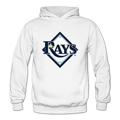 Women's Tampa Bay Rays 3D Hoodies Sweatshirt Size US White