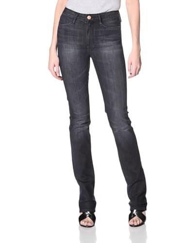Earnest Sewn Women's Super Hi-Rise Slim Straight Jean  - Reese