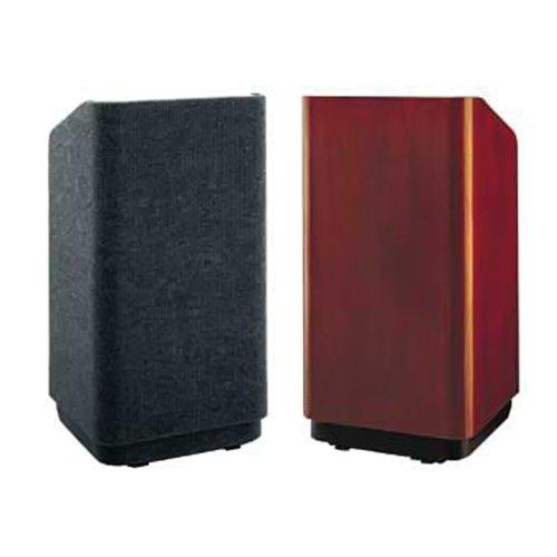 "Da-Lite School Office Conference Room Presentation Concord Lectern 25"" Floor Standing Podium With Sound System Standard Veneer"