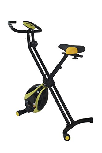 Olympic 2000 Compact Exercise Bike - Black