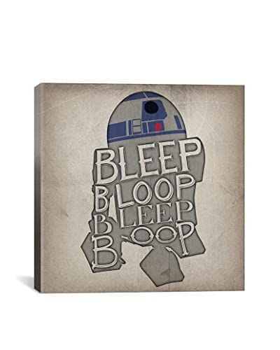 Darklord Bleep Bloop Bleep Bloop Gallery Wrapped Canvas Print
