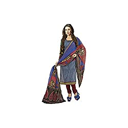 Siya Siyaram Printed Unstitched Cotton Dress Material from Fashiondiya