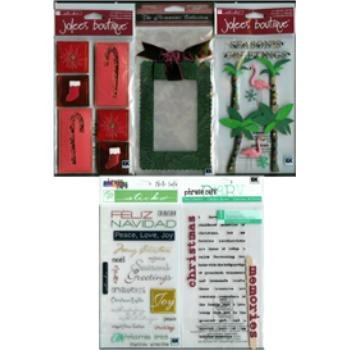 Scrapbooking Embellishments - Christmas Holiday 