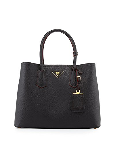 prada-saffiano-cuir-medium-double-tote-bag-black-nero
