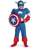 Captain America Classic Muscle Costume - Medium