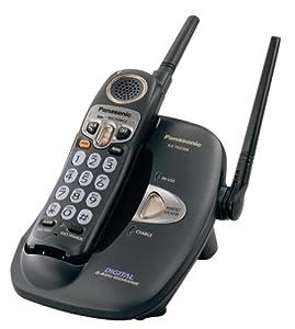 Look Check Price Panasonic KX TG2208B 24 GHz Digital Cordless Phone With Voice Enhancer Telephones Electronics