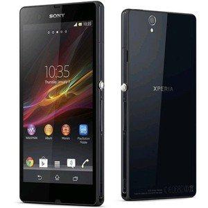 SONY Xperia Z SIMフリー 海外携帯 ブラック