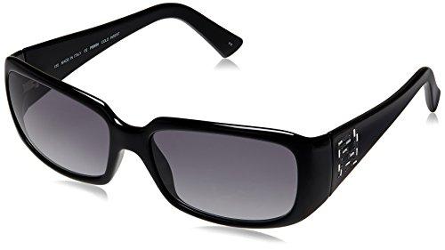 Fendi Fendi Rectangular Sunglasses (Black) (FS 5193R|001|58) (Multicolor)