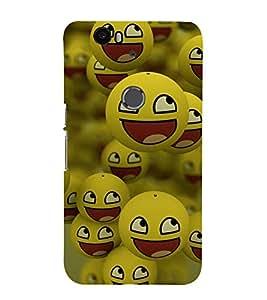 printtech Smiley Meme Happy Back Case Cover for Motorola Google Nexus 6P