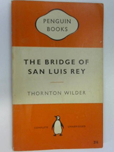 an analysis of the bridge of san luis rey The bridge of san luis rey is american author thornton wilder's second novel, first published in 1927 to worldwide acclaim it tells the story of several interrelated people who die in the collapse of an inca rope bridge in peru, and the events that lead up to their being on the bridge.