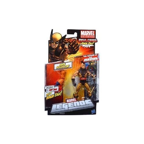 Marvel Legends 2012 Series 2 Action Figure Dark Wolverine Unmasked Variant Arnim Zola BuildAFigure Piece günstig bestellen