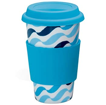 Eco Cup Blue Waves