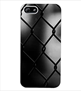 ColourCraft Chamber Design Back Case Cover for APPLE IPHONE 5