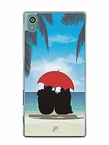 YuBingo At the Beach Designer Mobile Case Back Cover for Sony Xperia Z5