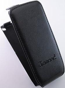 Handy Tasche Flipcase Ledertasche Samsung S8500 Wave Klapptasche Etui Schutzhülle Schutz Hülle Case Leder Tasche NEU