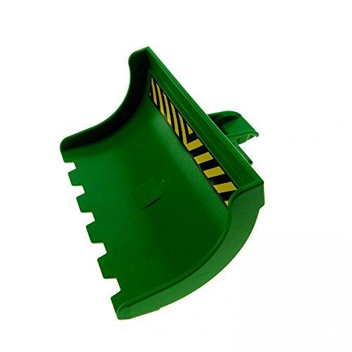 1 x Lego Toolo Duplo Bagger Schaufel grün 6x4x3