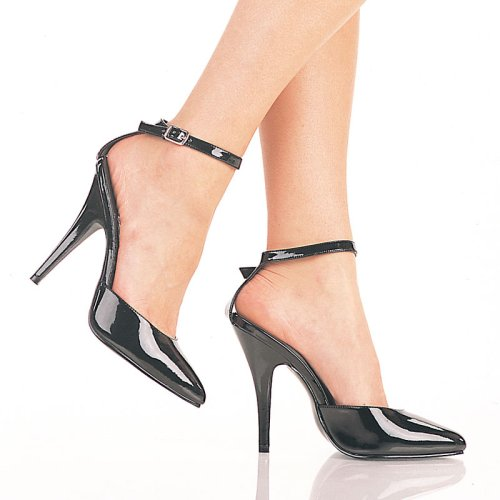 Pleaser Shoes Women's SEDUCE 401 5 Ankle Strap Pump
