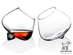 Normann Copenhagen Cognac Glass, Set of 2 by Normann Copenhagen