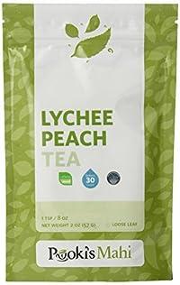 Pooki's Mahi Lychee Peach Tea, 2 Ounce