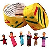 Set of 6 Trouble Dolls - 3 cmby Tobar