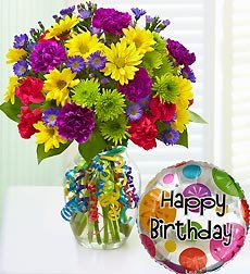 Flowers by 1800Flowers - It's Your Day Bouquet Happy Birthday - Large