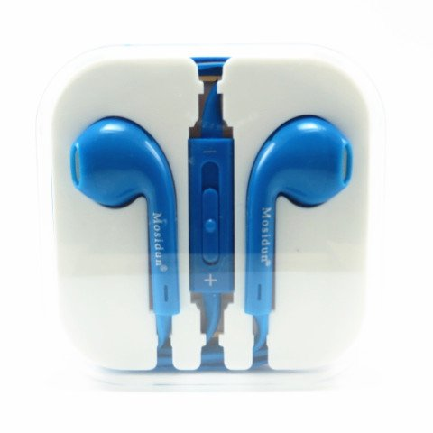 Buku Wireless 3.5Mm Universal Noise Isolation In-Ear Noodle Earphone Earpods Headset With Volume Remote And Mic For Apple Iphone Ipod Ipad Samsung Galaxy, Note ,Sony Nokia Blackberry Smartphones Mp3/Mp4 Player Kindle Fire Latop Macbook Pc Tablet Computer