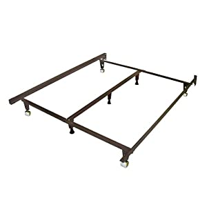 Deluxe Metal Bed Frame Full Size Furniture